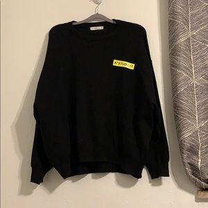 Black Zara KNIT Sweater